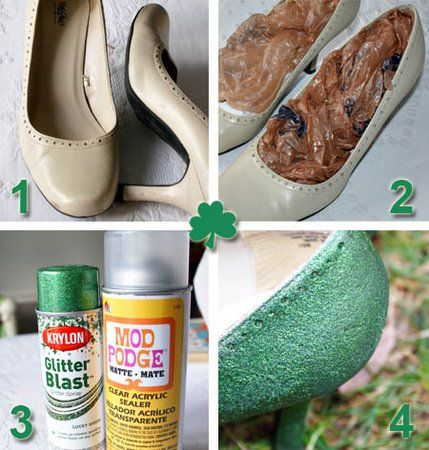 screw ruby slippers me wants some Shamrock Shoes