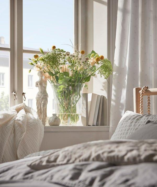 Schlafzimmer Natürliche Einrichtung zum Wohlfühlen   Gemütliche schlafzimmerideen, Natur ...