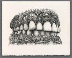 PETER GRIC   Teeth 2015-07-03   Zähne 2015-07-03