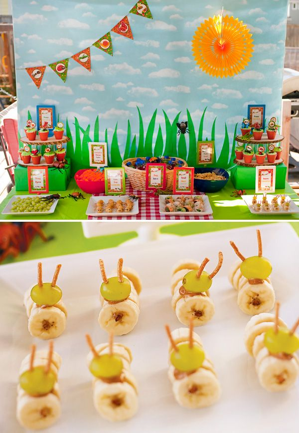 Bug tastic Joint Birthday Party. So many of the things we want to do right here!