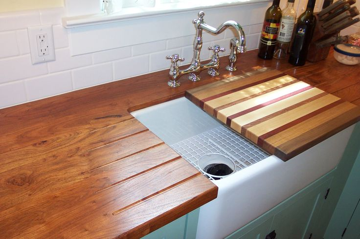 Cutting Kitchen Countertop : ... custom cutting board that fits over sink for easy cleaning and cutting