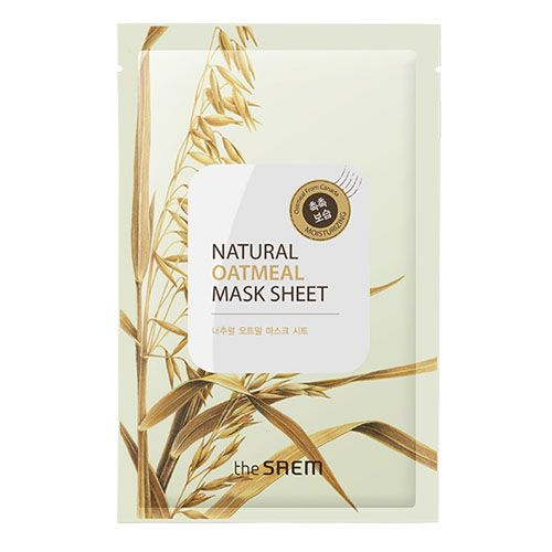 The Saem Natural Oatmeal Mask Sheet (5ea)|The Saem|Mask sheets|Online Shopping Sale Koreadepart