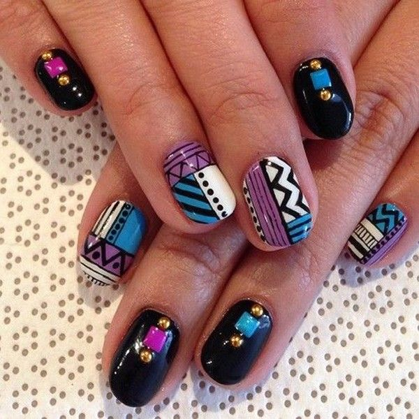 Tribal nail designs can make a very vigorous and solitary look for women, which are normally made up of various patterns like stripes, dots, triangles and other geometric forms. They can give a strong visual outcome with bright colors. All the tribal nails share a identical theme of being abstract. You can also customize them … Continue reading Trendy and Funky Tribal Nail Designs