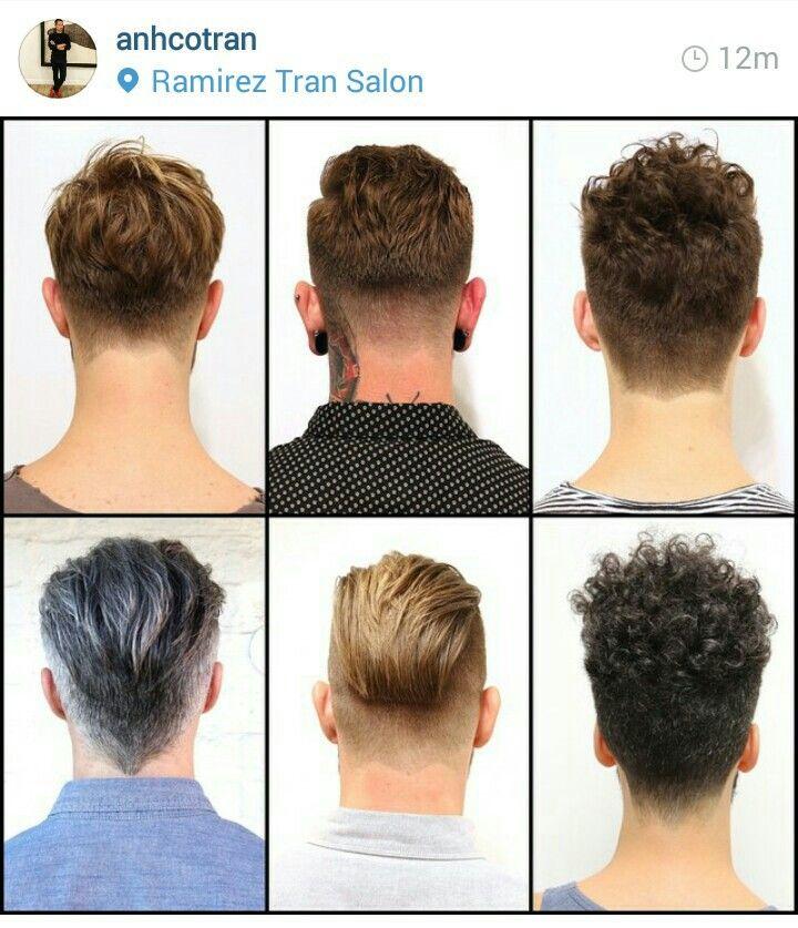 Long on top back - Men's hair