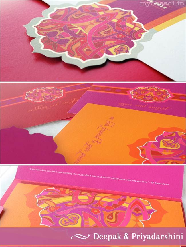 Wedding Card Trends: Branding your Wedding!| Myshaadi.in#India#Wedding Cards#Marriage Invitations#Indian Weddings
