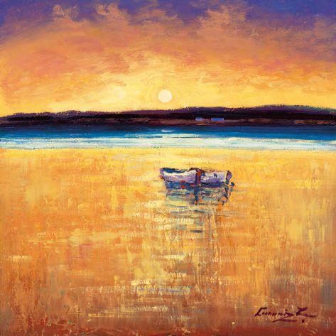 Sunset, Dingle Bay Print by William Cunningham at Art.com