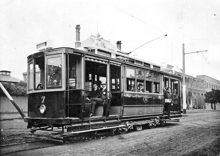 First series of trams, Melbourne
