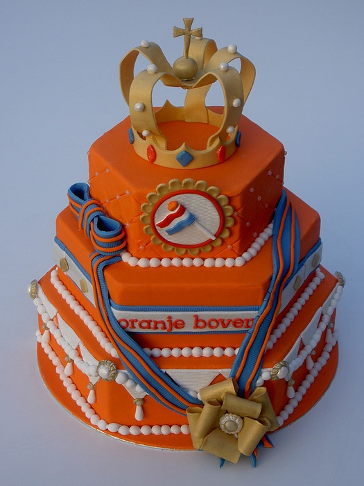 Dutch Queen's Day Cake