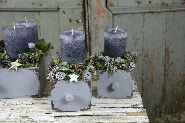 "Advent ""in the Box"" #Advent #Floristik #Adventideen #menschmeisterfloristik #adv… – Weihnachten, Deko, Ideen"