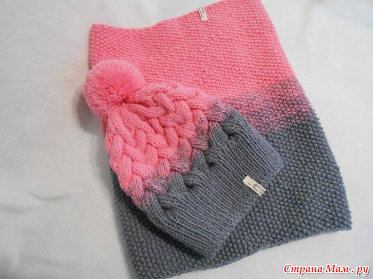 Пора утепляться к зиме. Вяжем теплые комплекты онлайн. a886a4aba9e6a