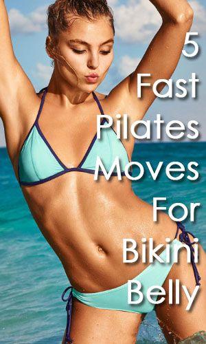 Pilates Moves For Bikini Belly