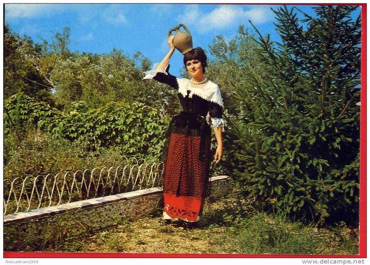 NICASTRO-COSTUME -LA PACCHIANA | Costumi di Calabria ...