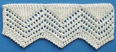 1884 Knitted Lace Sample Book: 9. Torchon Lace