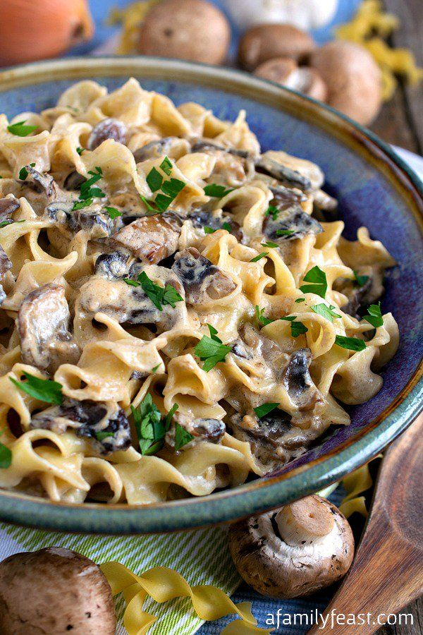 256 best food pasta grains images on pinterest noodles romanoff with mushrooms noodles romanofffood bankpasta forumfinder Image collections