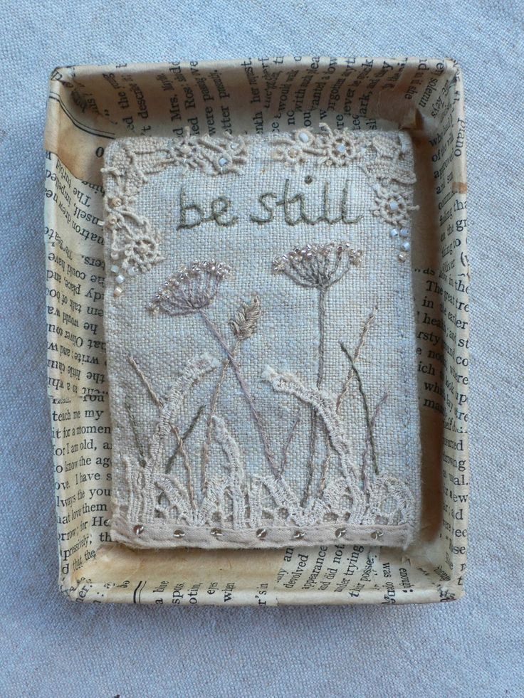 gentlework by Christine Kelly needs a little bit of porcelain I'm thinking!
