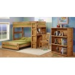 """I asked the kids what they thought of this bunk bed, they said """"lovely mommy"""" haha too cuteKids Beds, Boys Bedrooms, Bunk Beds, Kids Room, Bedrooms Bunk, Beds Desks, Loft Beds, Bunkbeds, Bedrooms Ideas"""