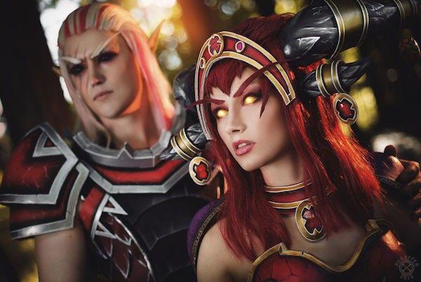 Una de las parejas más explosivas de World of Wacraft se trasladan a la Tierra con el increíble trabajo de los cosplayers Narga y Aoki.