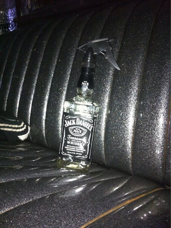 jack daniels spray bottle for whiskey man barber tattoo artist bar enthusiast on etsy. Black Bedroom Furniture Sets. Home Design Ideas