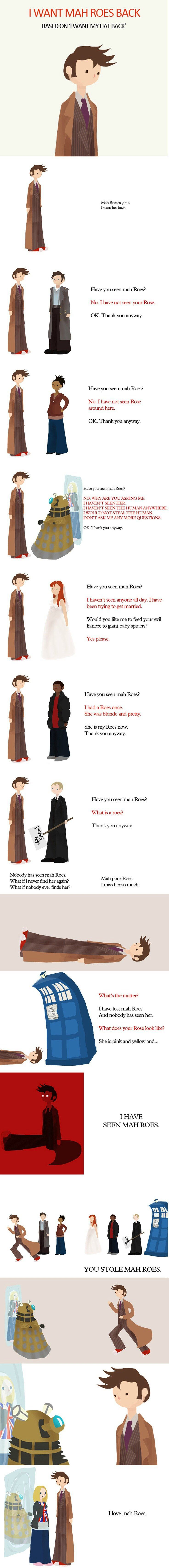 Have you seen my rose #doctor who