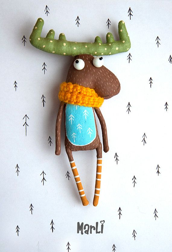 Loving moose is very devoted friend . He can be always with you,support you and give you good mood  its a great friend for kids and adults
