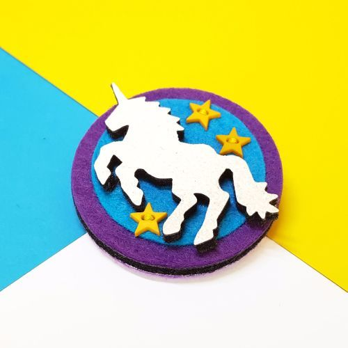 Starlight Unicorn Brooch by LIFE is better in COLOUR