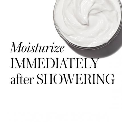 20 Timeless Skin-Care Tips - Moisturize Immediately After Showering
