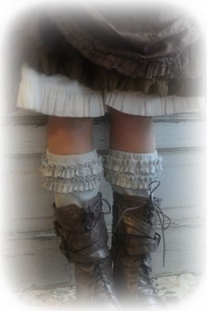 Ruffle Cuff Leg Warmer-Ruffle Cuff Leg Warmer. Very cute especially if you dont want to wear leggings or tights