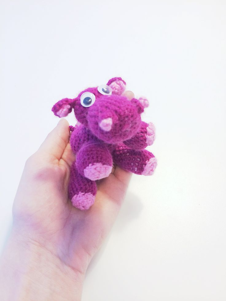 #crochet #hippo