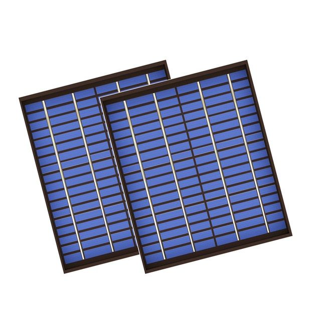 2pcs Lot X Polycrystalline Pv Module Solar Panel 18v 20w 20watt Pet Cell Charge 12v Battery Charger 20 Watts W Solar Panels Best Solar Panels Solar Panel Cost