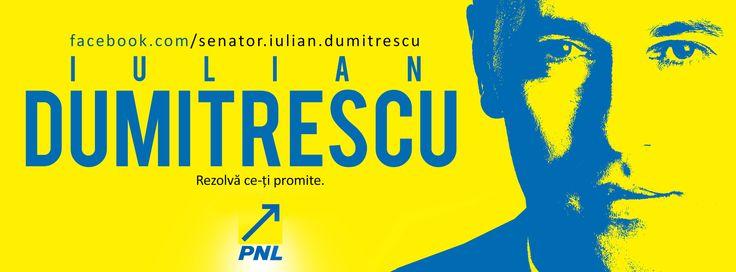 Poti urmari zilnic activitatea mea intrand pe:  www.facebook.com/senator.iulian.dumitrescu