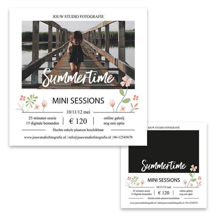 Summer (mini) sessie flyer 1