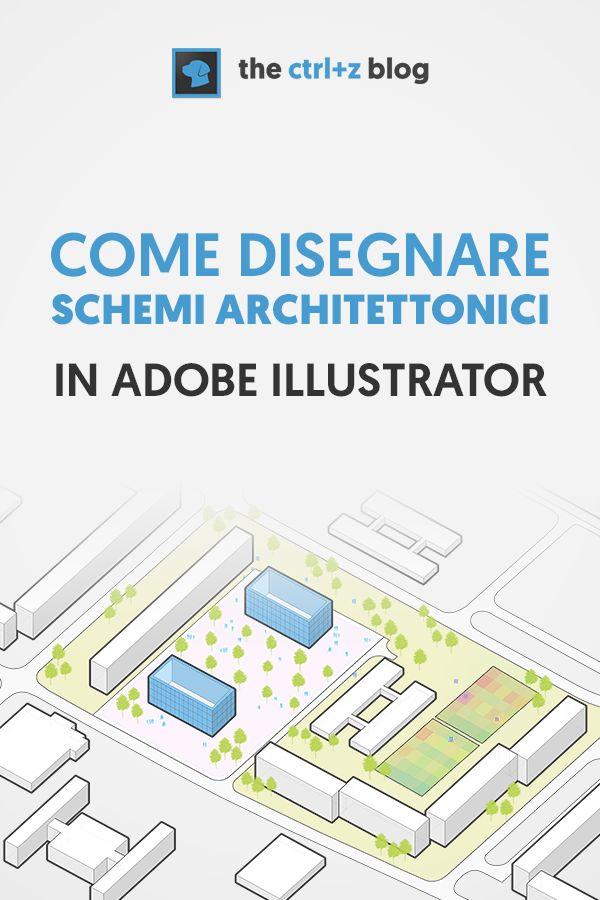 Come disegnare schemi funzionali e diagrammi architettonici: le tecniche avanzate dei pro di Illustrator via @thectrlzblog