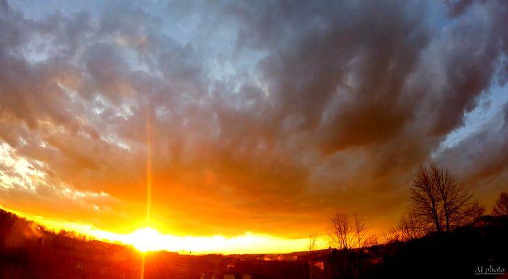 Sunset over Rybnik