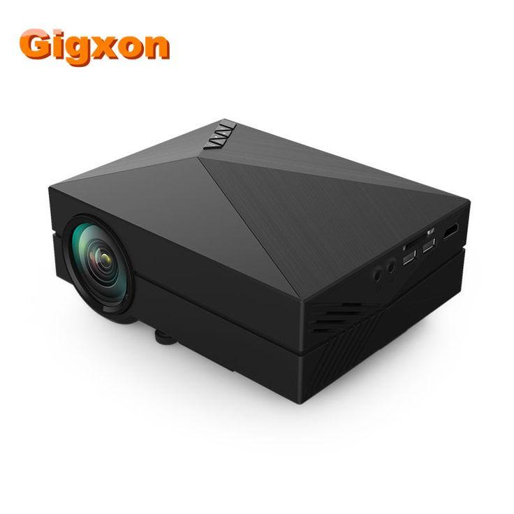 >> Click to Buy << Gigxon - G60 Compatible Full HD Home Portable Projector GM60 Mini Pico proyector 3D 1080P VGA HDMI para cine en #Affiliate