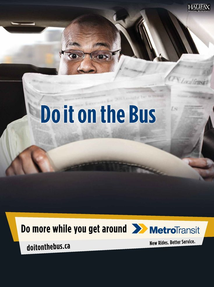 Halifax Regional Municipality, Metro Transit: Do It On The Bus, Newspaper | Ads of the World™