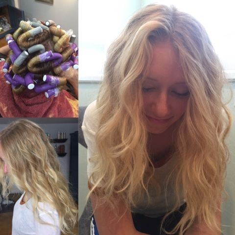 Hairtwist- beach wave perm