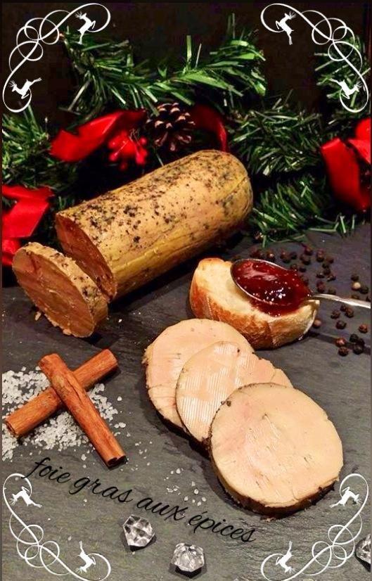Foie gras au thermomix, touche de cannelle et miel