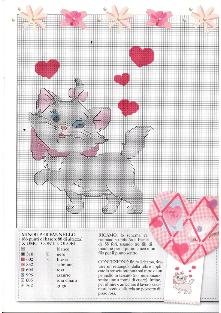 Cartoon Characters Knitting Patterns : Best images about aristcats cross stitch on pinterest