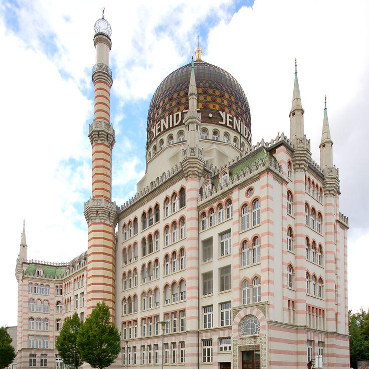 Ehemaliges Fabrikgebäude derZigarettenfabrik Yenidze (erbaut 1908/1909), Dresden