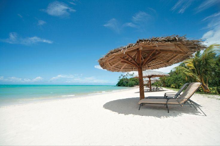 Upolu, Samoa (stayed at Aggie Greys Resort)  Beautiful beaches & even more beautiful people :)
