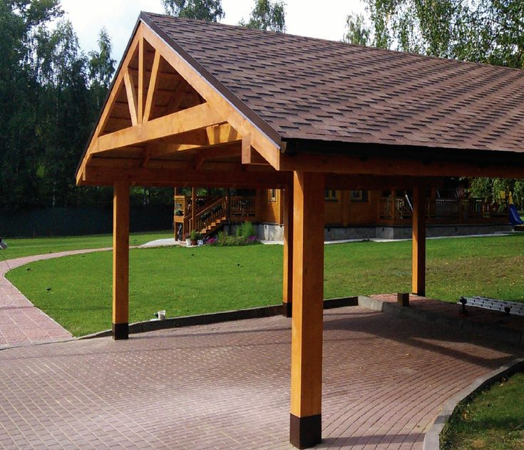 PREFAB HEAVY TIMBER FRAME CARPORT FOR 2 TWO VEHICLES CARS