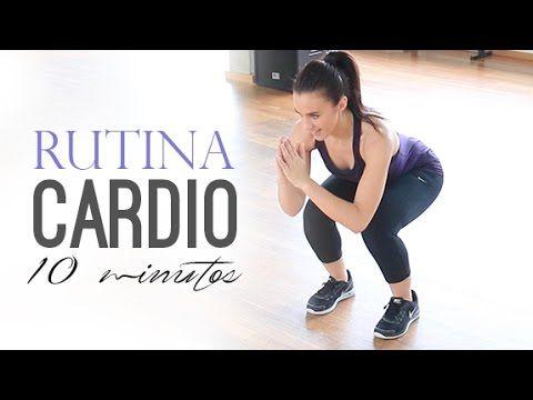Tabata rutina cardio 10 minutos