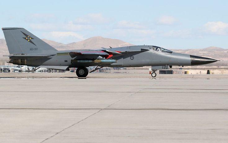 Red Flag Military Exercise; Royal Australian Air Force General Dynamics F-111C Aardvark