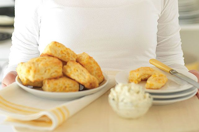 Bring back the tradition of from-scratch biscuits every Sunday: Just watch the video to see how simple it is to get flaky, cheesy, hot-out-of-the-oven biscuits.