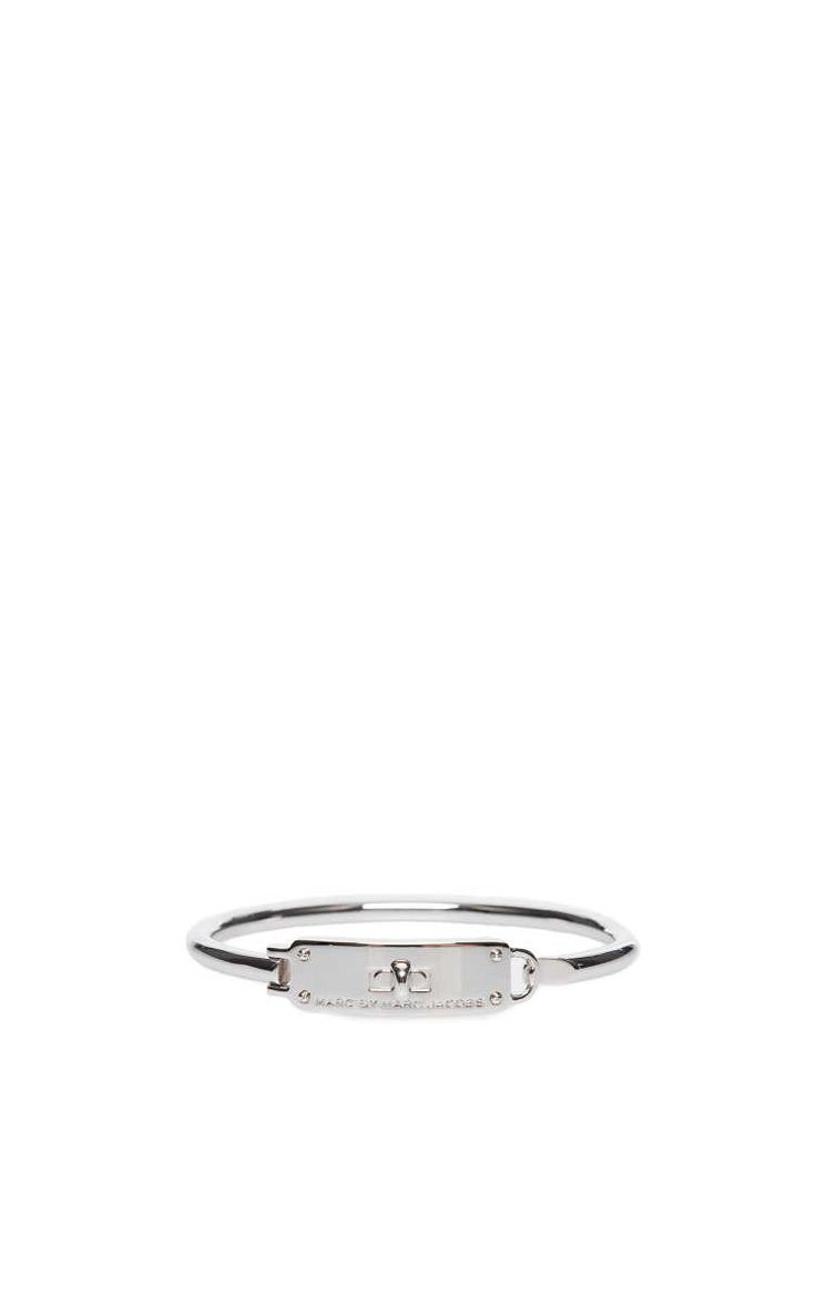 Armband Turnlock Hinge Cuff SILVER - Marc by Marc Jacobs - Designers - Raglady