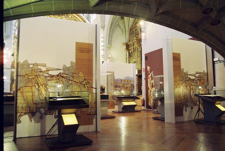 Exposición: Caballeros y Caballos 1212-1512. Museografía