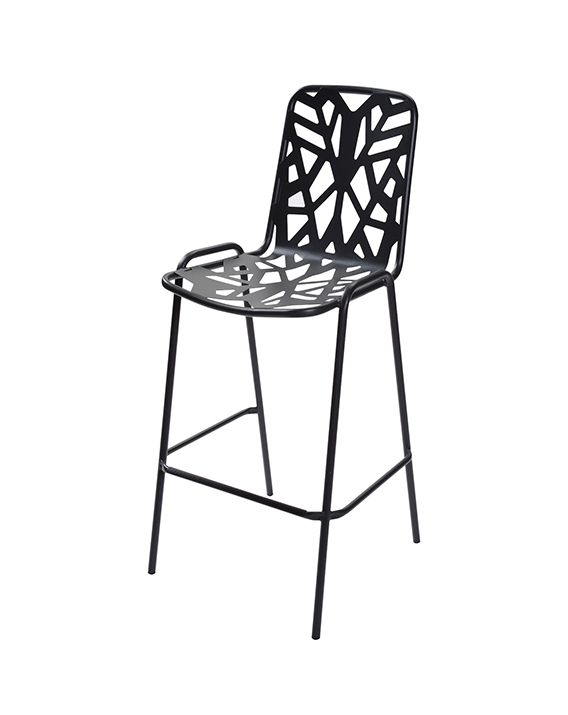 Kale 1127 Outdoor Armless Bar Stool
