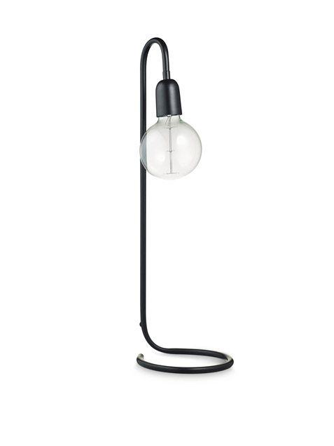 lamp in black by H. Skjalm P.   Wunderschöne Lampe auch in mattem Gold mit sonder besonderen Glüchbirne (gibt es in dem Laden am Box)
