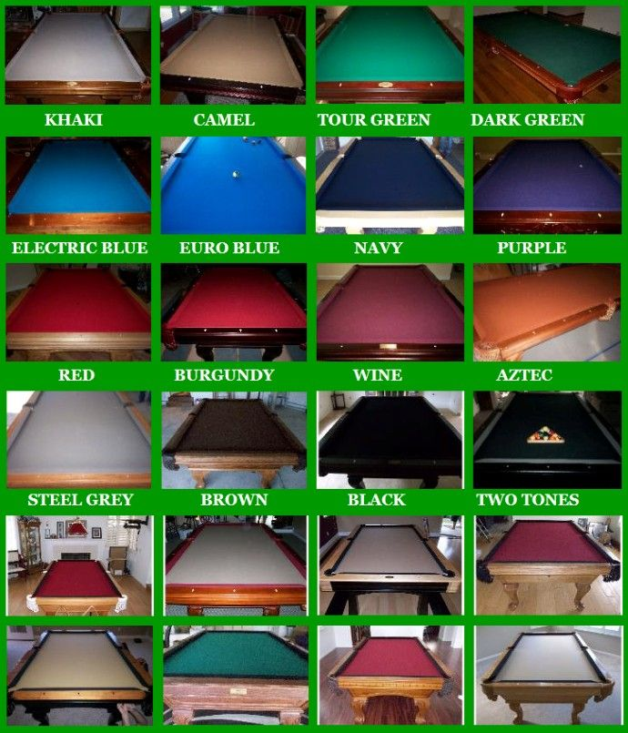 Pool Table Cloth Replacement Kit: 37 Best Images About How To Build A Pool Table On
