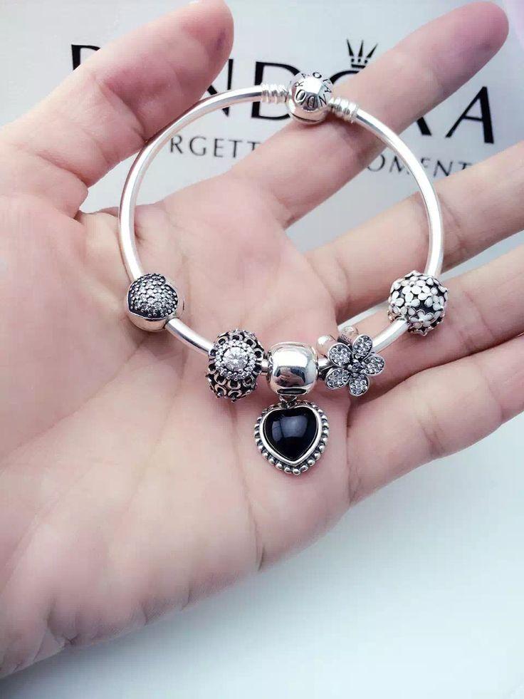 50% OFF!!! $159 Pandora Charm Bracelet. Hot Sale!!! SKU: CB01354 - PANDORA Bracelet Ideas